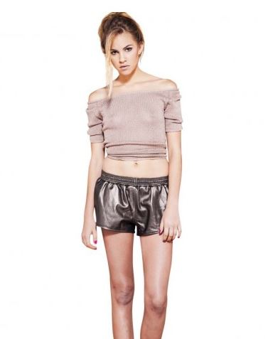 Viparo gold rush leather shorts.JPG