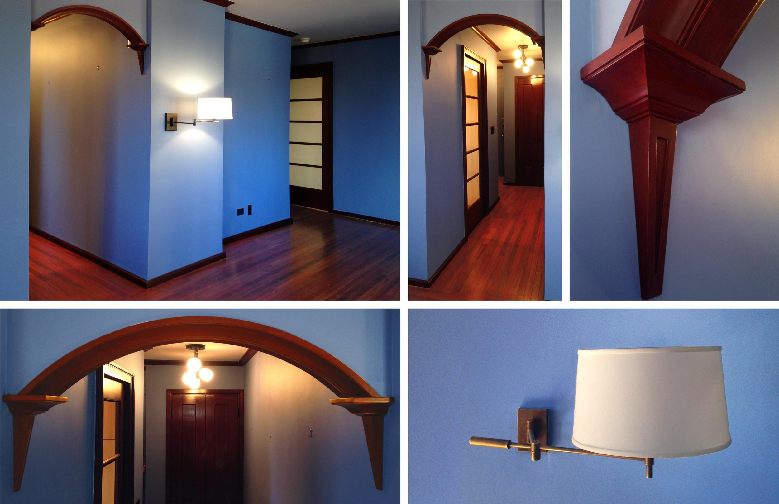 INTERIOR ARCHITECTURE, KITCHEN & BATHROOM DESIGN: ONE BEDROOM