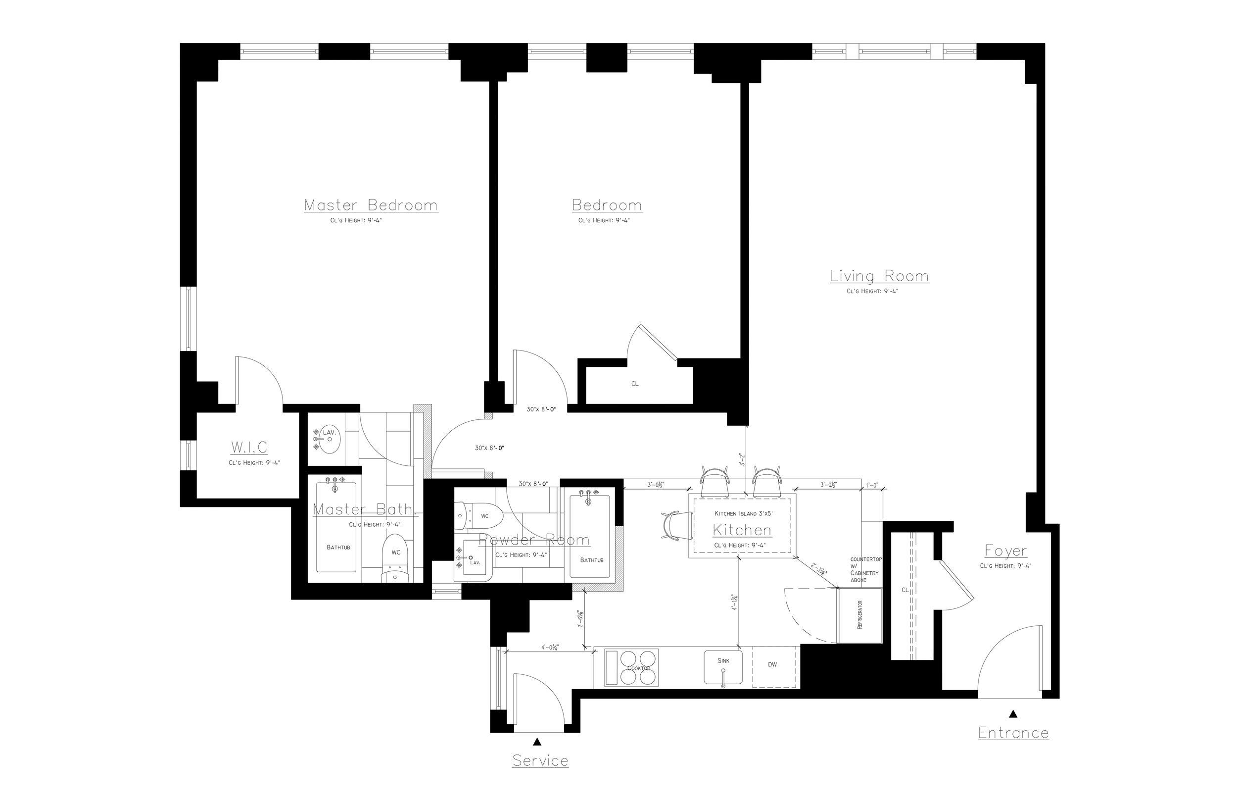 INTERIOR ARCHITECTURE:  KITCHEN DESIGN & BATHROOM DESIGN