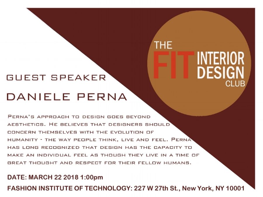 Guest Speaker at the Fashion Institute of Technology.  https://www.fitnyc.edu/