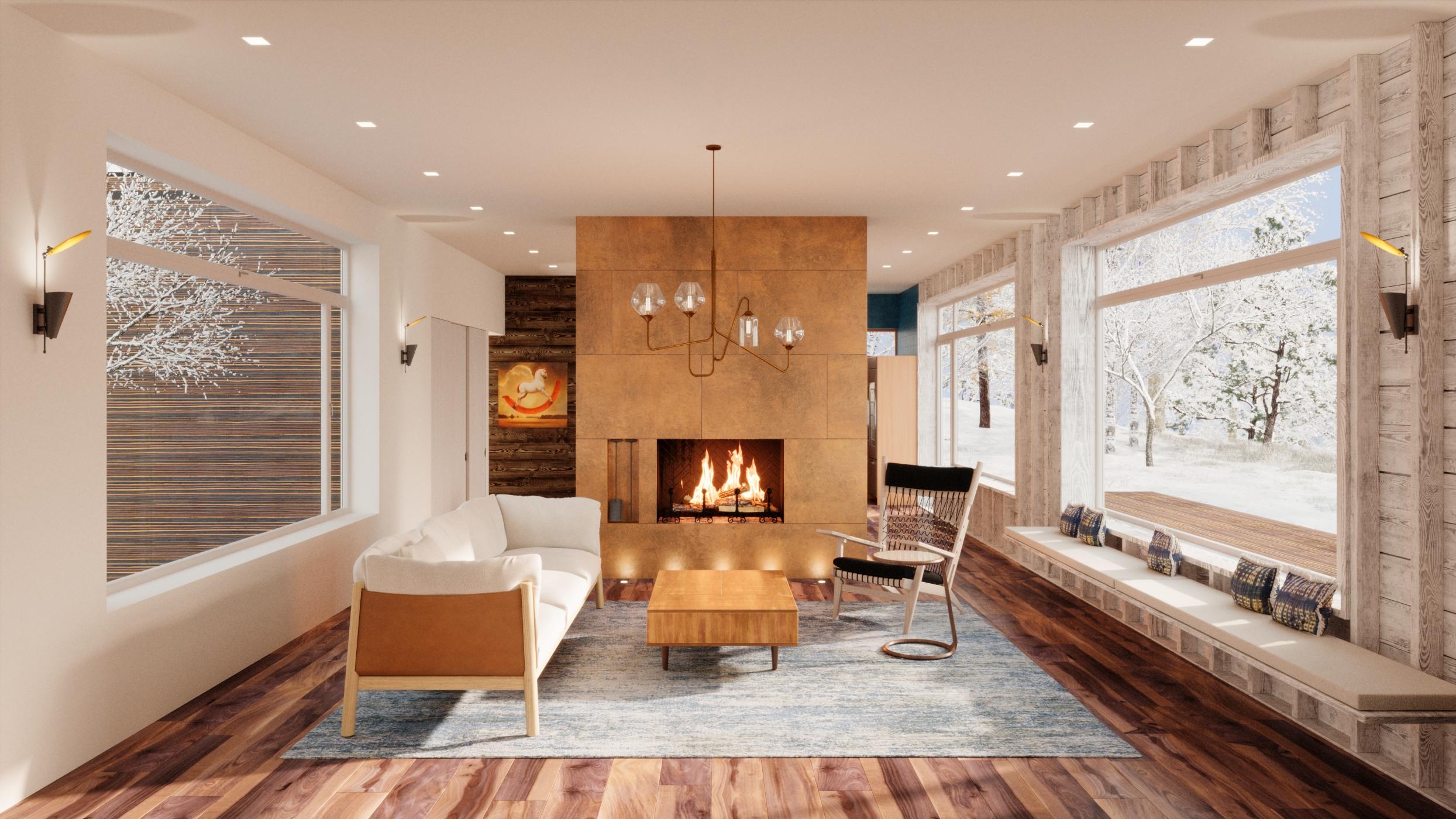 RDD HOUSE:  INTERIOR DESIGN