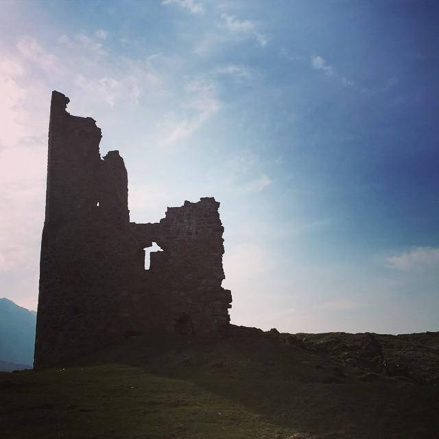 Ardvreck Castle, important site in Cauldron.