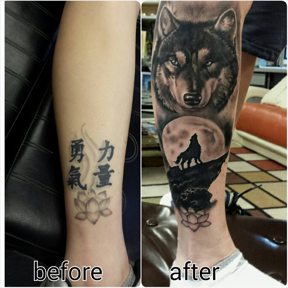 Cover Up Tattoos Lost Art Gallery Tattoo