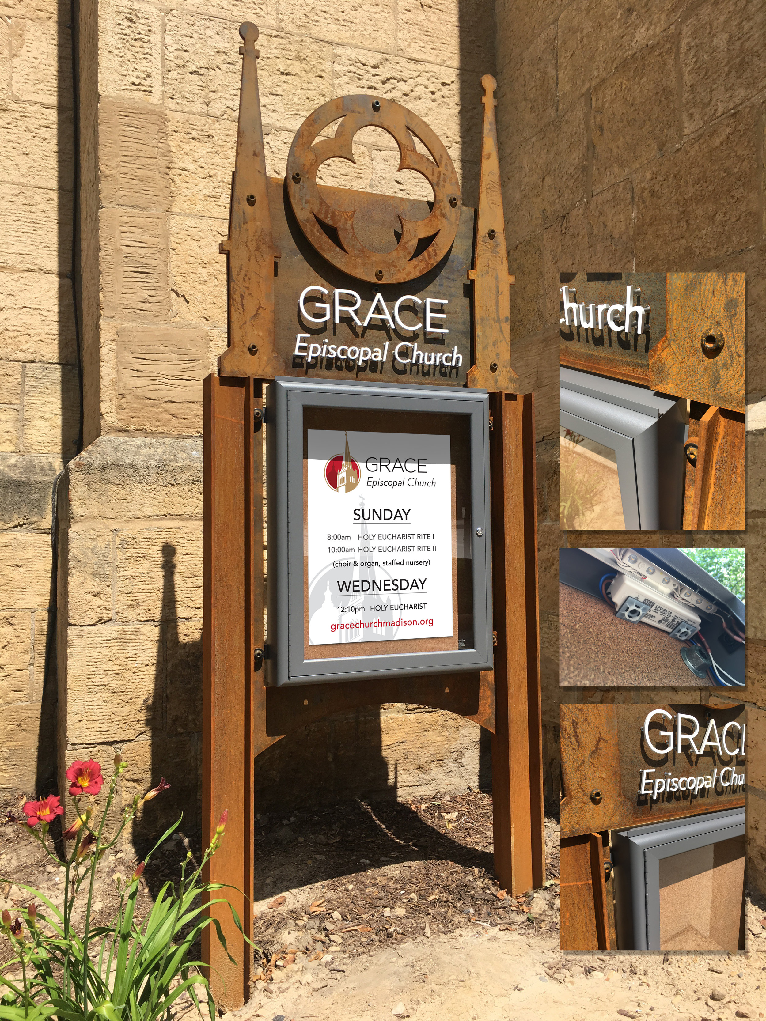 Grace Episcopal Church Outdoor Signage