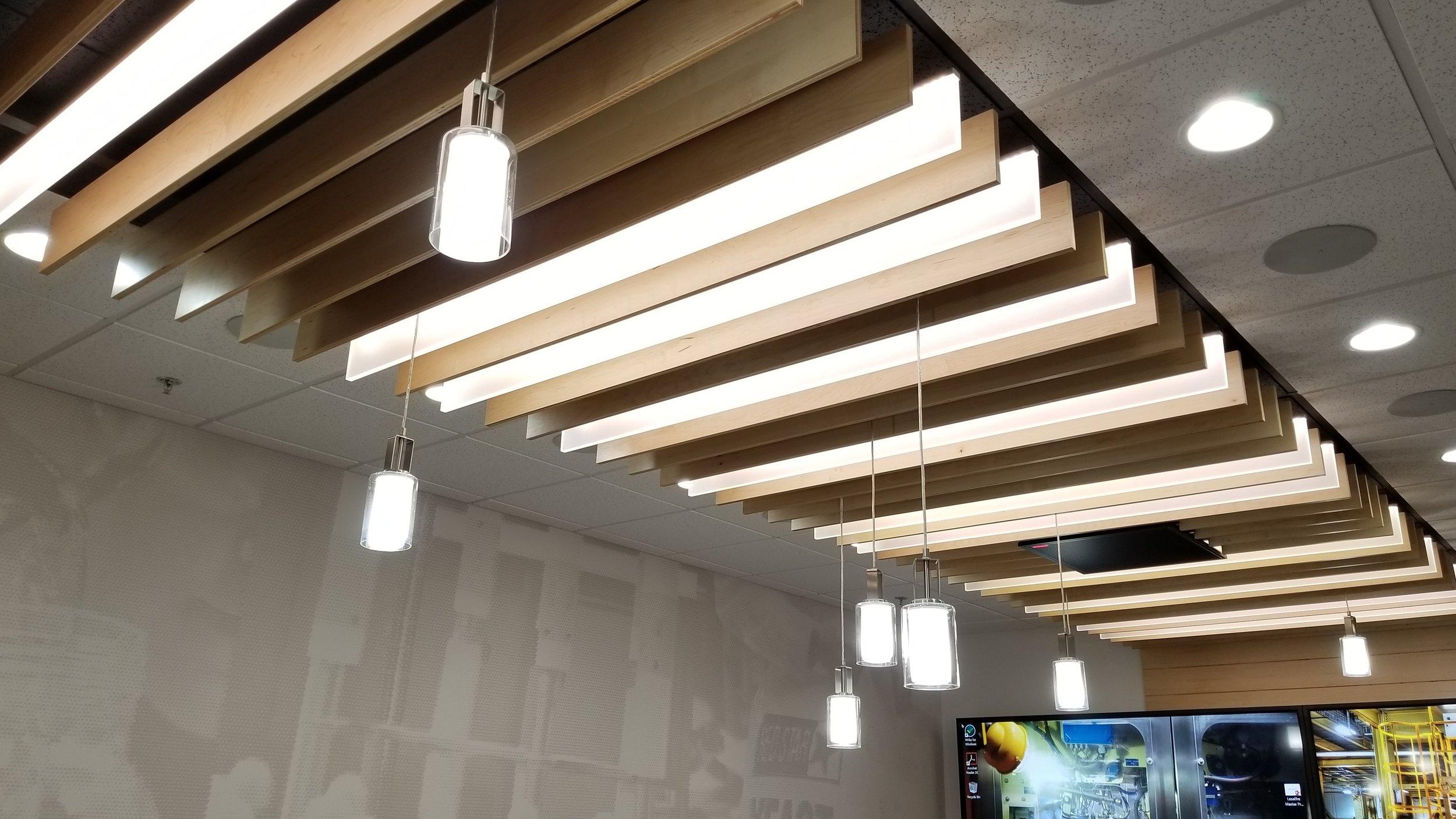 Lesaffre Conference Room Ceiling