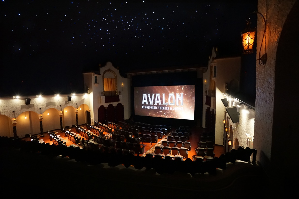 Avalon Theater Starlit Ceiling