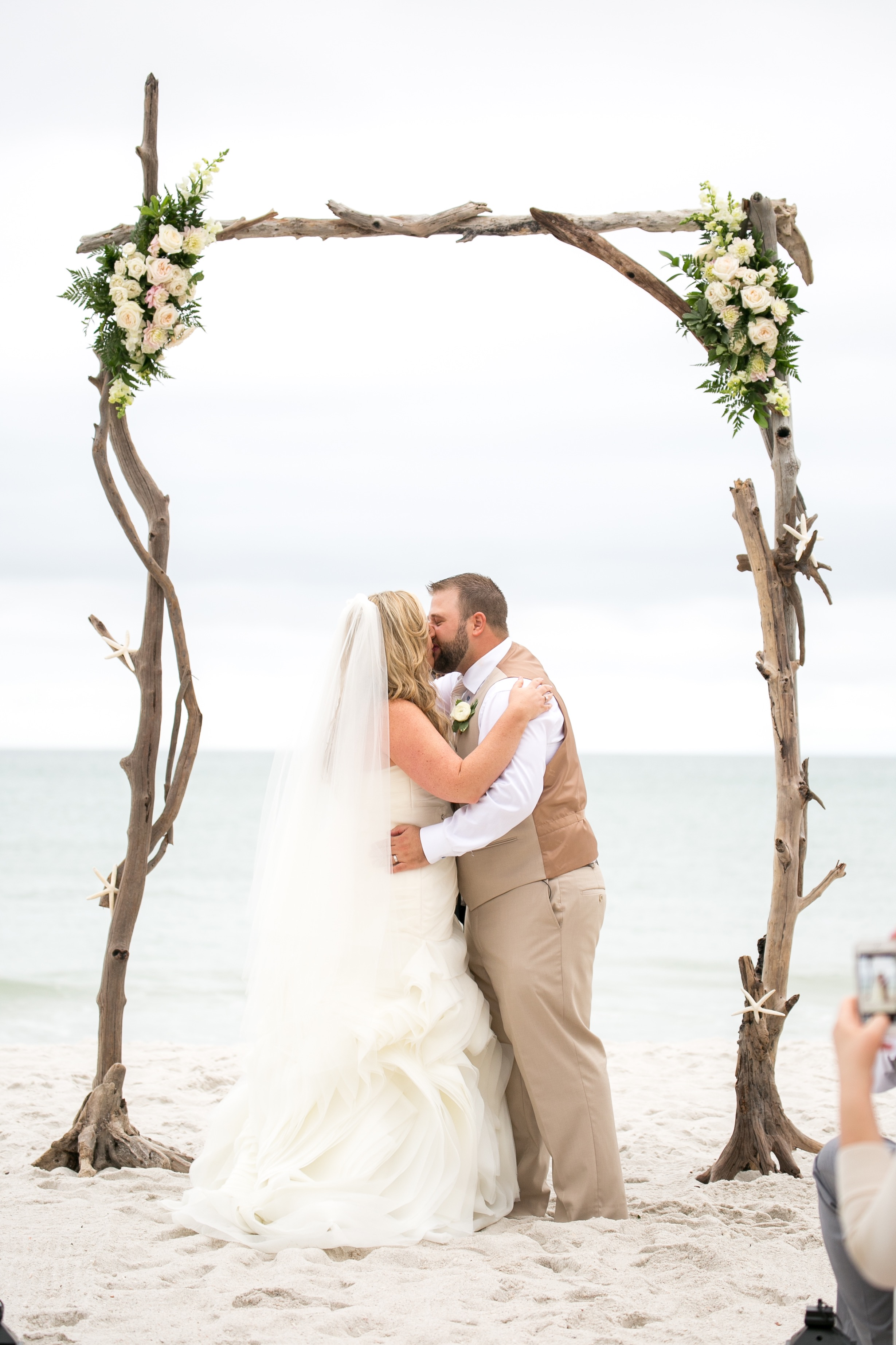 Custom Driftwood arch made and owned by PartyRox Events