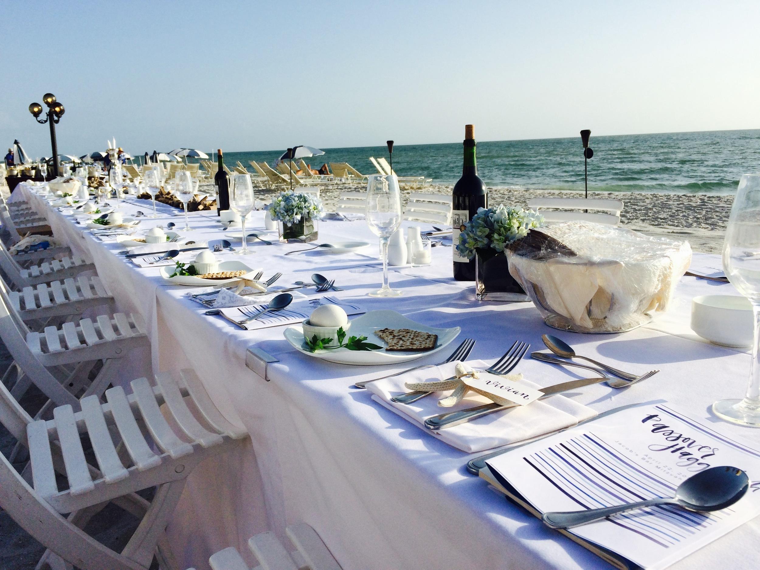 Seder dinner - iPhone photo