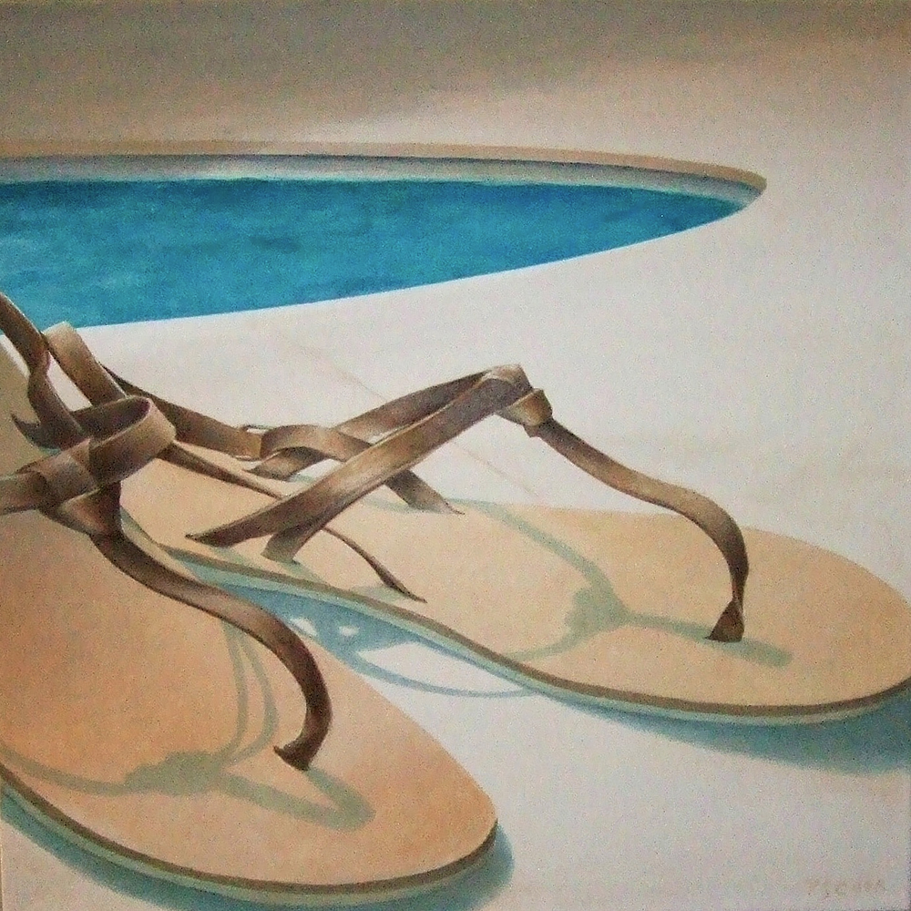 No.2 Poolside Collection 18x18""