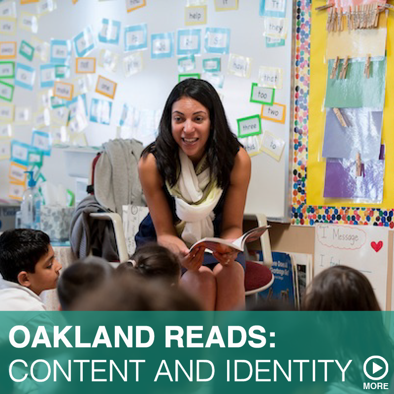 OAKLAND READS:  CONTENT AND IDENTITY