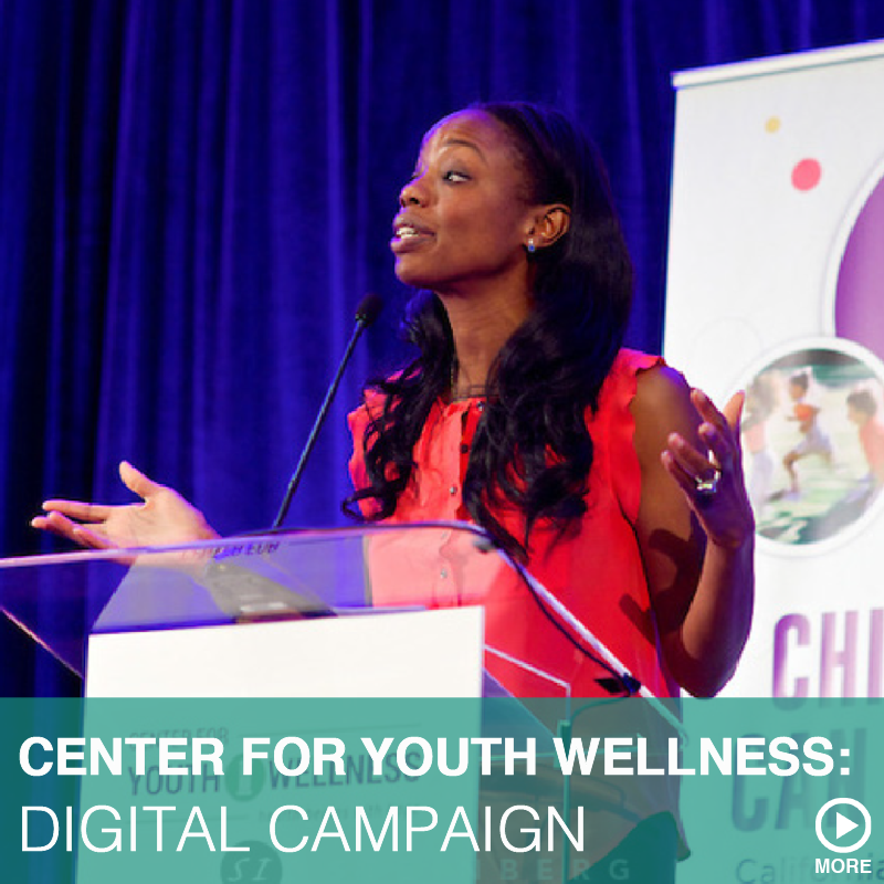 CENTER FOR YOUTH WELLNESS: DIGITAL CAMPAIGN