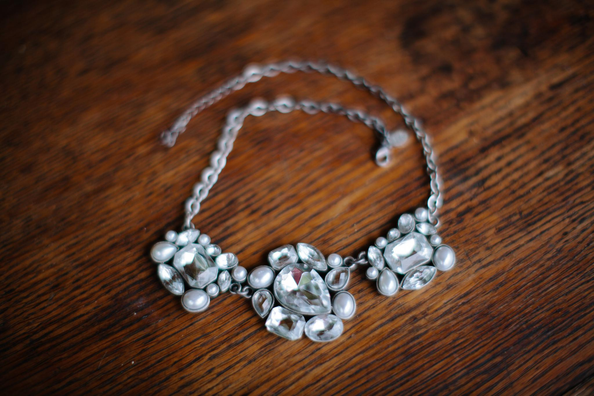 Statement Necklace For Wedding Photographers