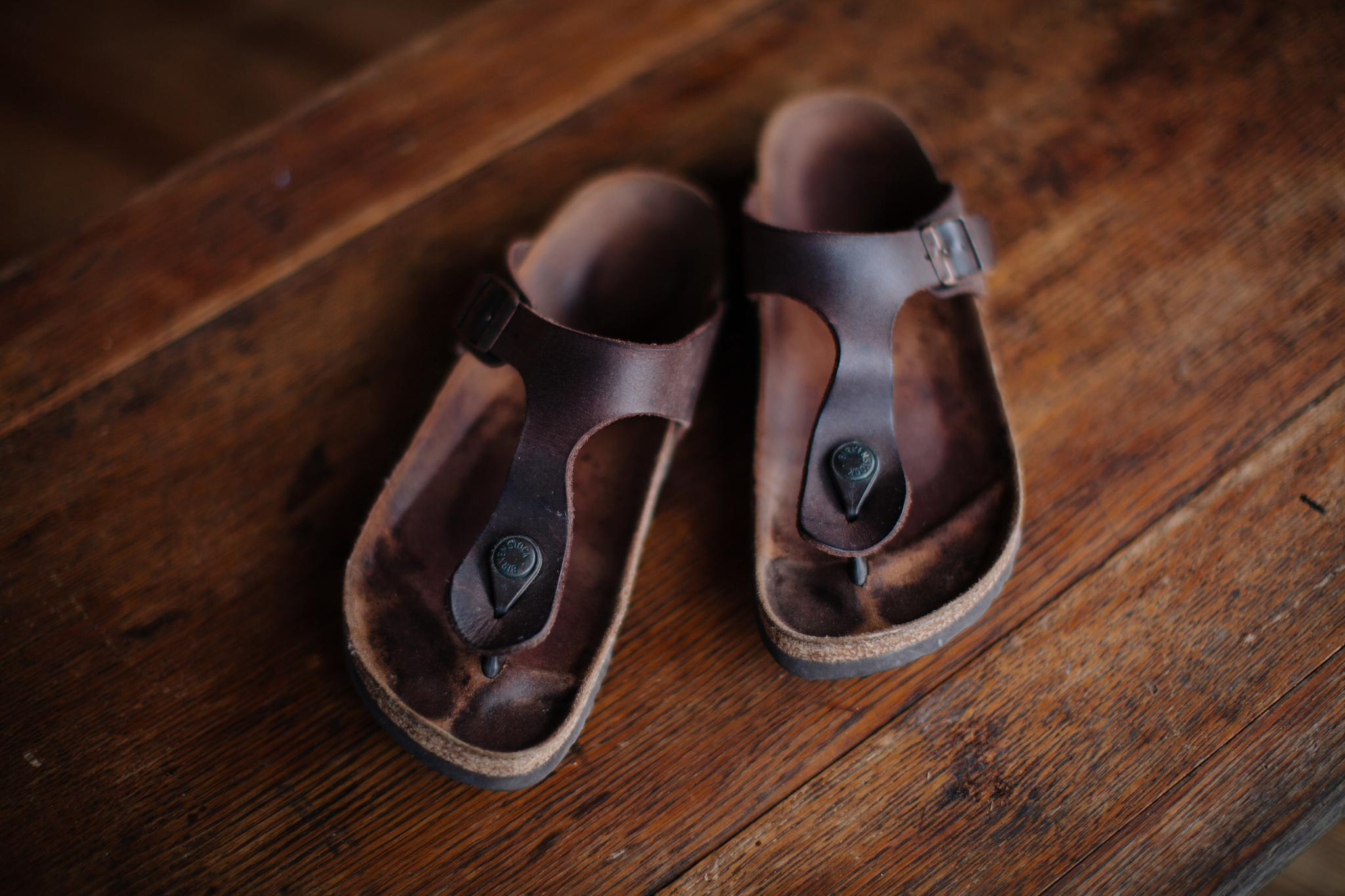 Birkenstock Sandals For Wedding Photographers Female Comfortable Leather Durable
