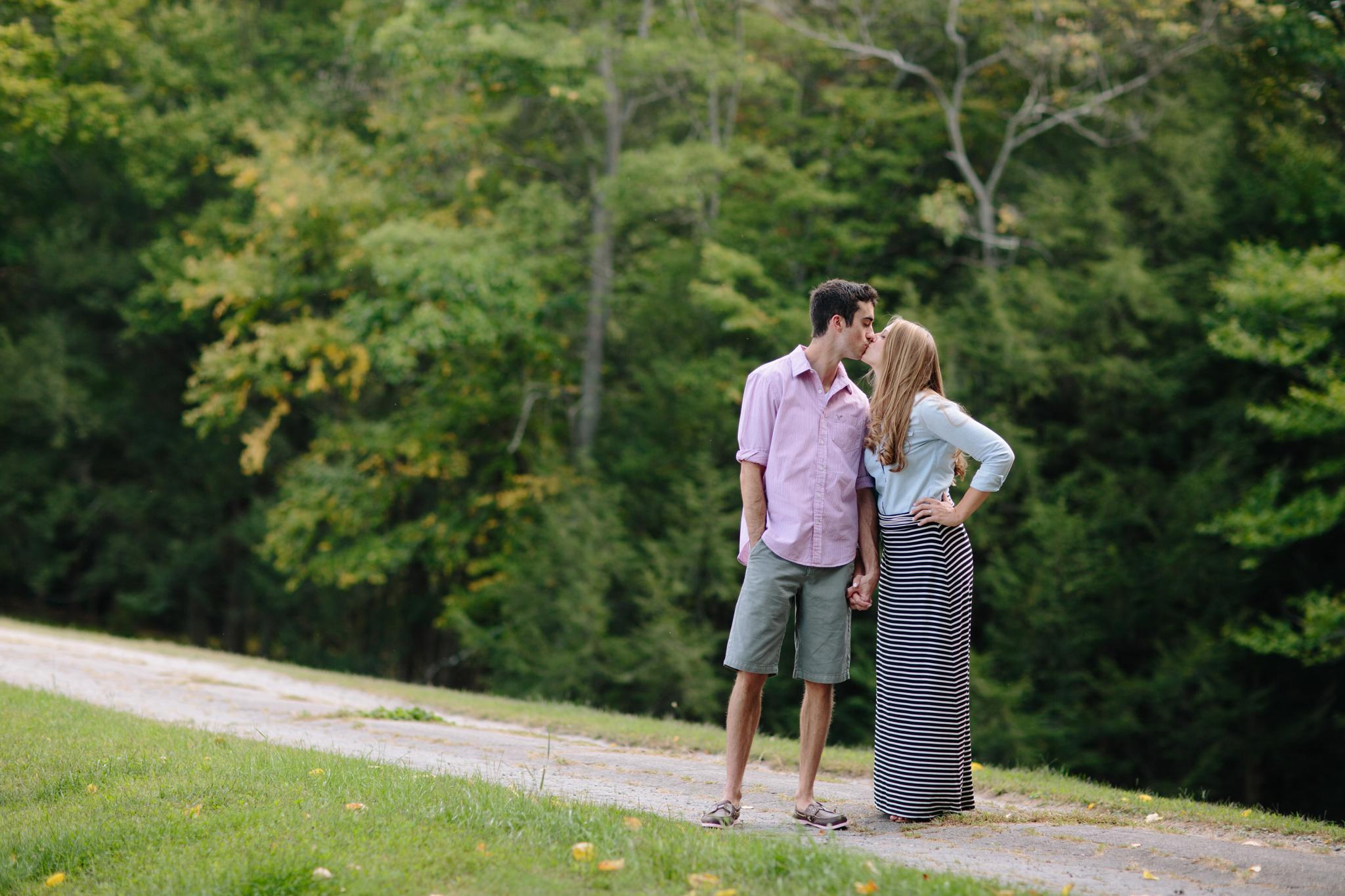 saddle lake engagement session tunkhannock pa