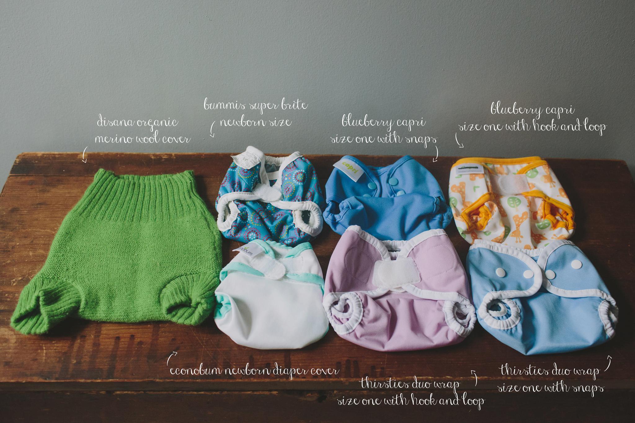 Newborn Cloth Diaper Covers