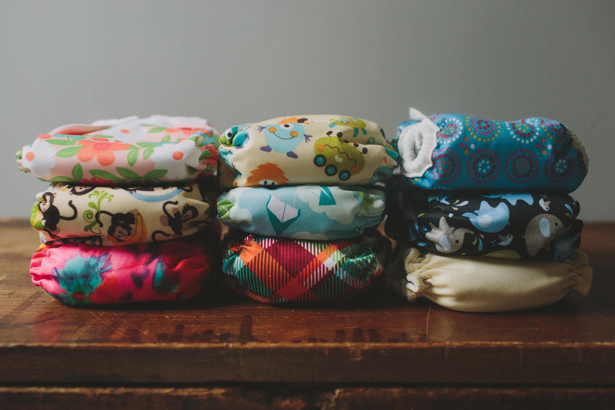 Building A Newborn Cloth Diaper Stash