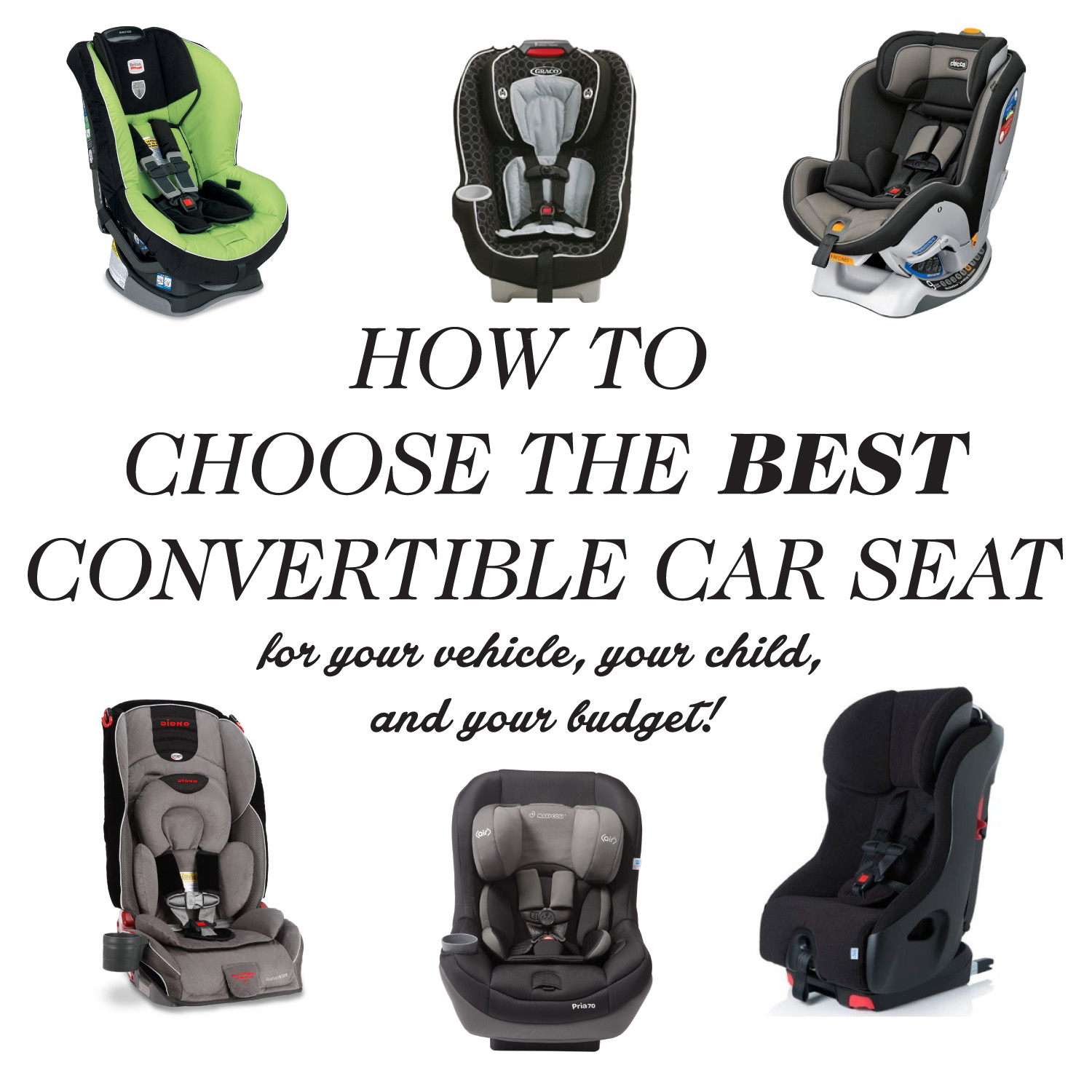 Convertible Car Seat Shopping Guide