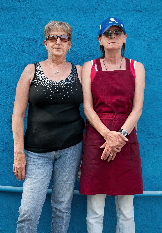 Roberta and Mary, 2013