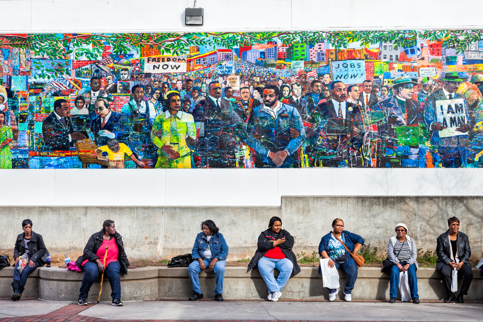 Martin Luther King Jr. Memorial Mural, 2014, Atlanta