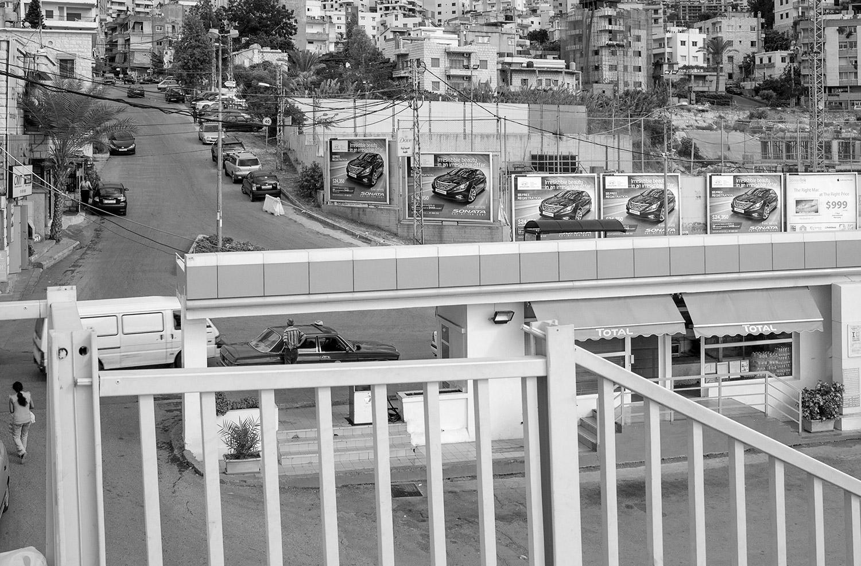 Five Sonata Billboards. Beirut, Lebanon,  2014  Archival Fiber Inkjet Print  16 x 24 inches