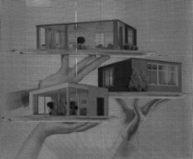 Render on Electronic Billboard.  Beirut, Lebanon, 2018  Archival Fiber Inkjet Print   11.5 x 14 inches