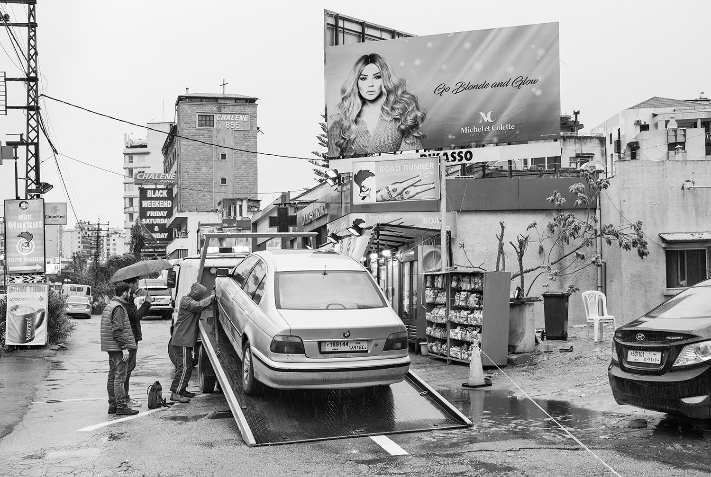 Go Blonde.  Beirut, Lebanon, 2018  Archival Fiber Inkjet Print   16 x 24 inches