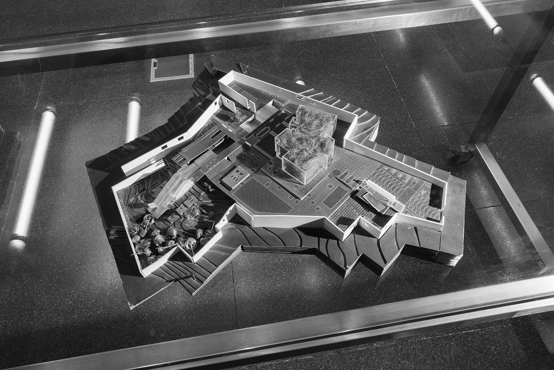 Untitled (Architectural Model).  Beirut, Lebanon, 2018  Archival Fiber Inkjet Print  9.5 x 11 inches