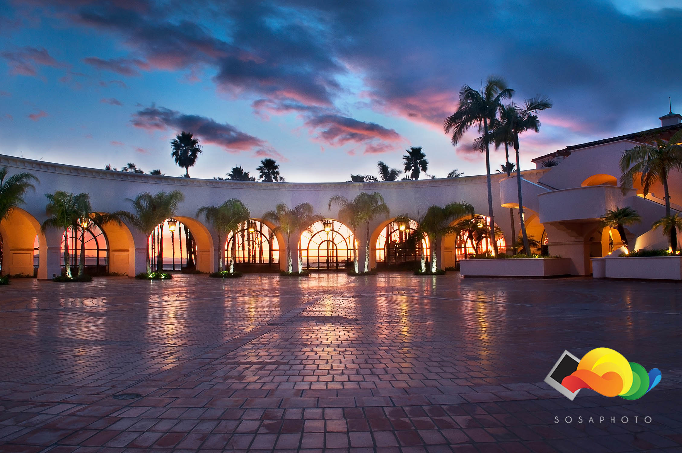 Sunset at the  Fess Parker Double Tree ; ©Sosaphoto2015