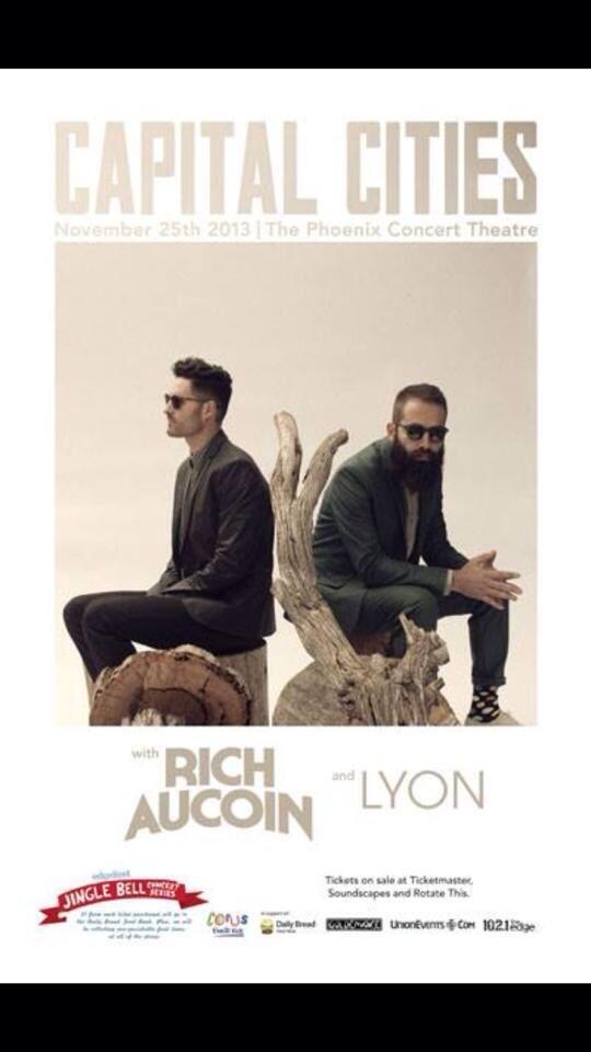 Edgefest Jingle Bells Concert Series w/ Rich Aucoin & LYON at The Pheonix Toronto