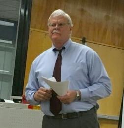 Larry Myatt leading his session