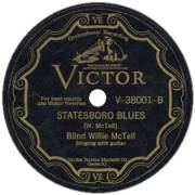 A record of Blind Willie McTell's Statesboro Blues |  Source