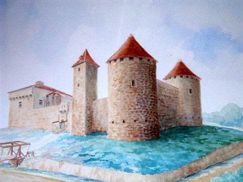Loubersan in the XVth Century
