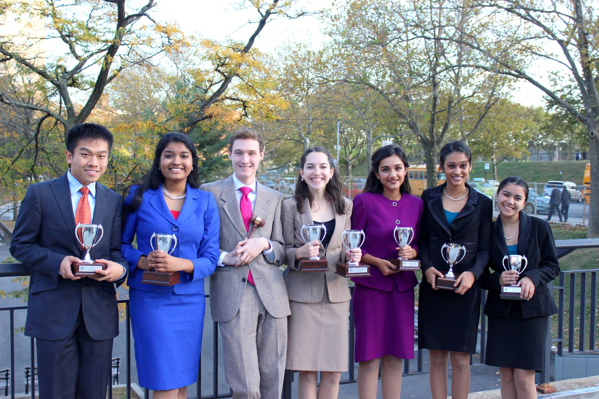 New York City Invitational - Our Varsity Speech Team!