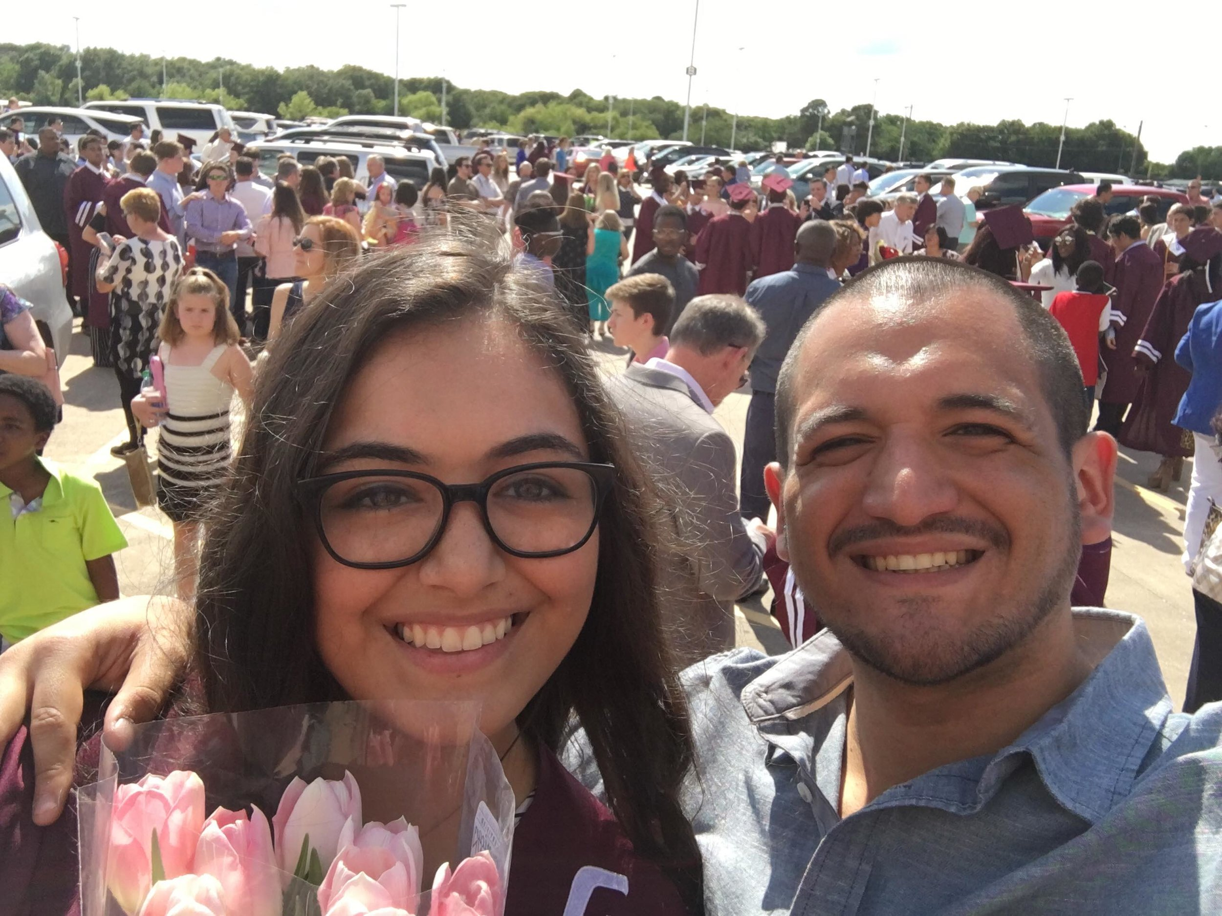 My sister graduated high school!