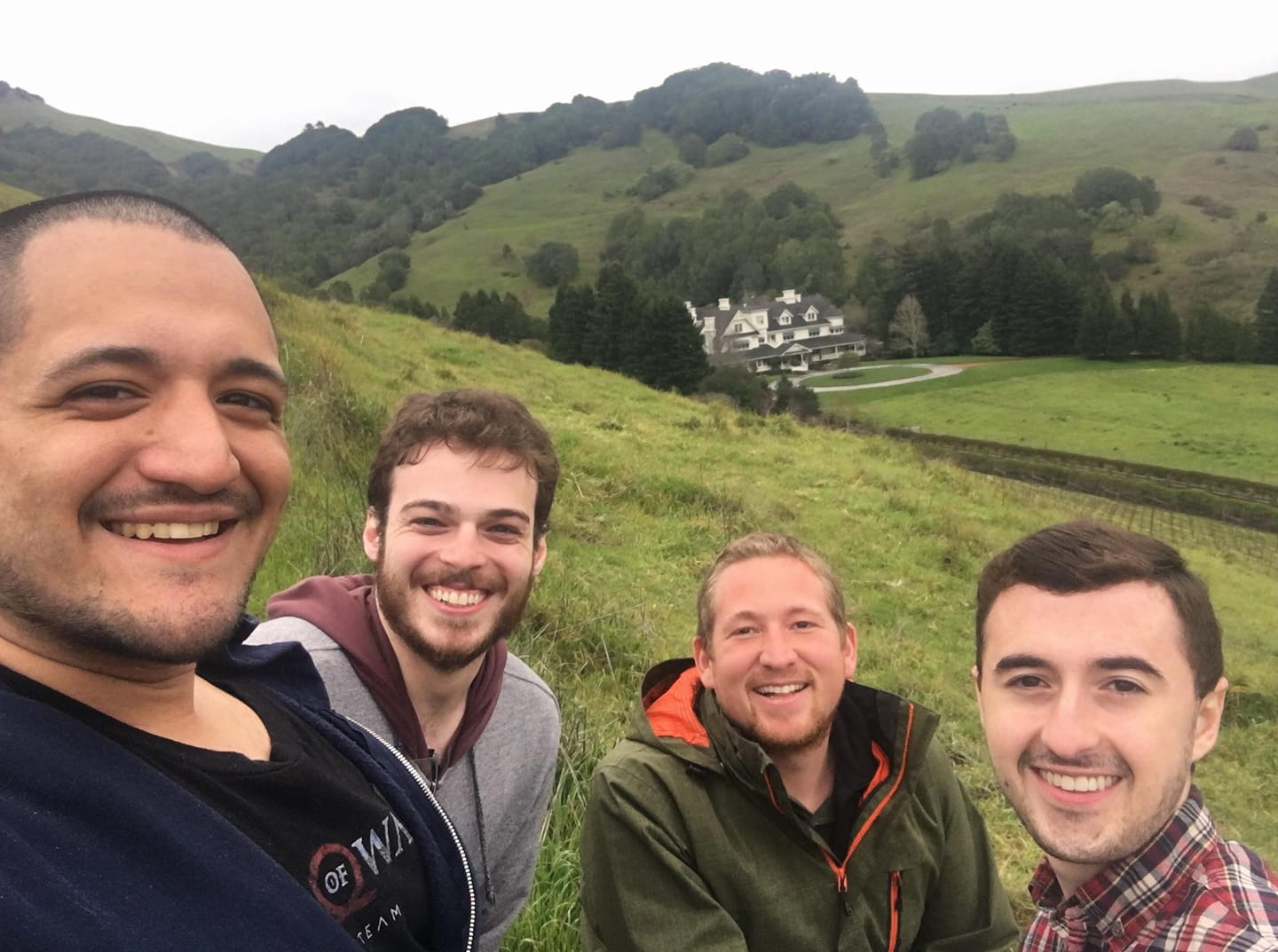 Richard Gould was kind enough to give us a tour of Skywalker Ranch.