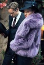 Gucci Lavender Fur from the AW11 Runway