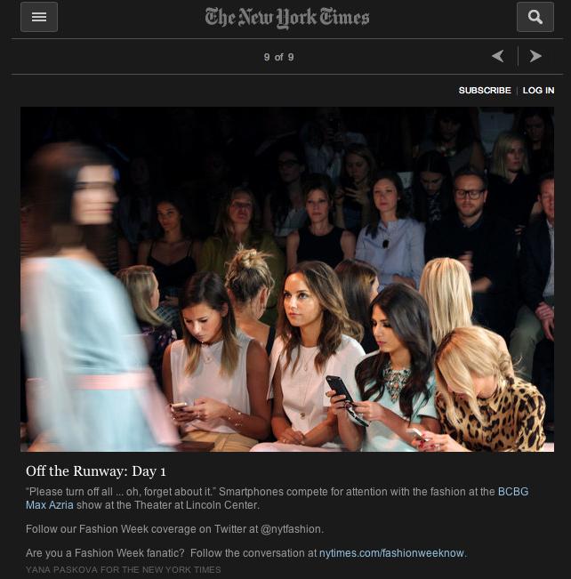 The New York Times   Yana Paskova