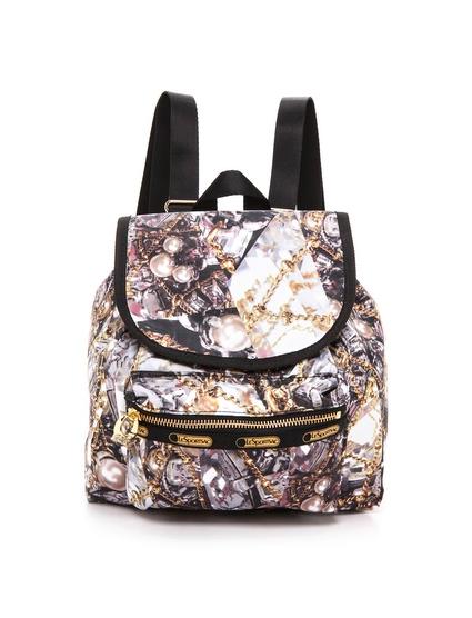 Erickson Beamon for LeSportsac Small Nico Backpack in Glenda Print , $128