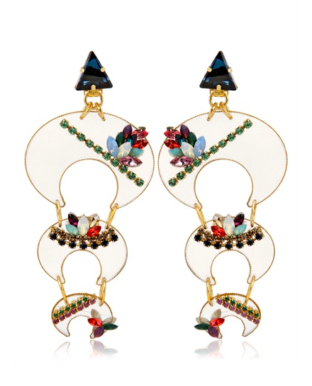 Erickson Beamon Who Are You Earrings  $1094