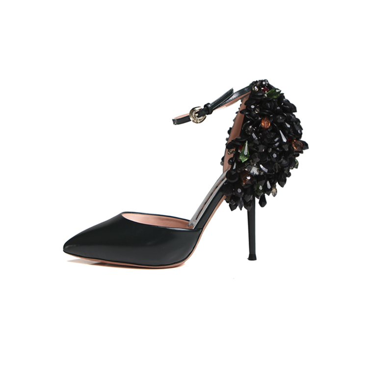 Rochas Back Beaded Pump $785 from $1570