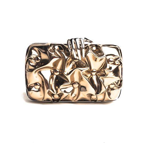 Benedetta Bruzziches Carmen Metallic Clutch  $307.50 from $1025
