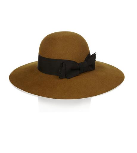 Saint Laurent Rabbit Felt Hat $875 marked down from $1250
