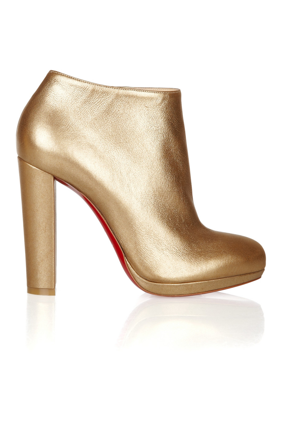Christian Louboutin Rock and Gold Bootie $547.50 marked down from $1095