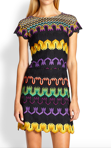 Missoni Multicolor Beaded Hem Dress  ($1182)