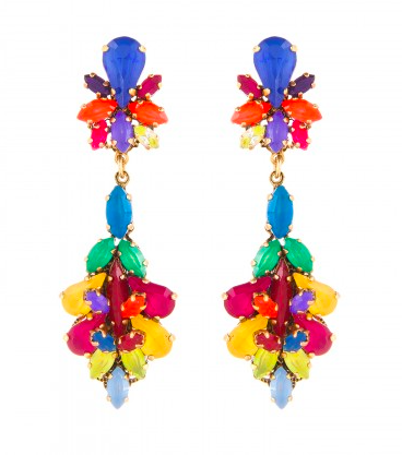 Erickson Beamon Splash Earrings  ($430)
