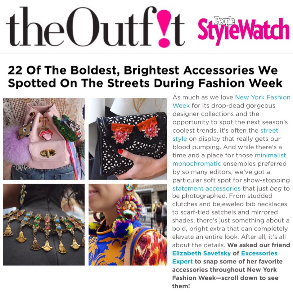 The Outfit/People Stylewatch   Elana Fischman and Elizabeth Savetsky