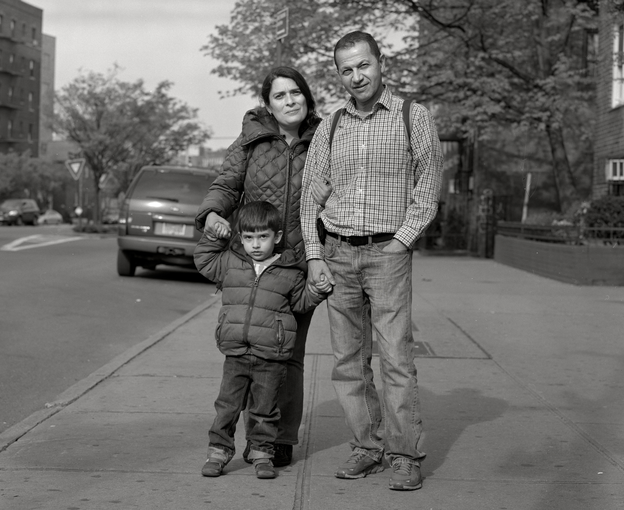 Yakov family, Kings Highway, Brooklyn