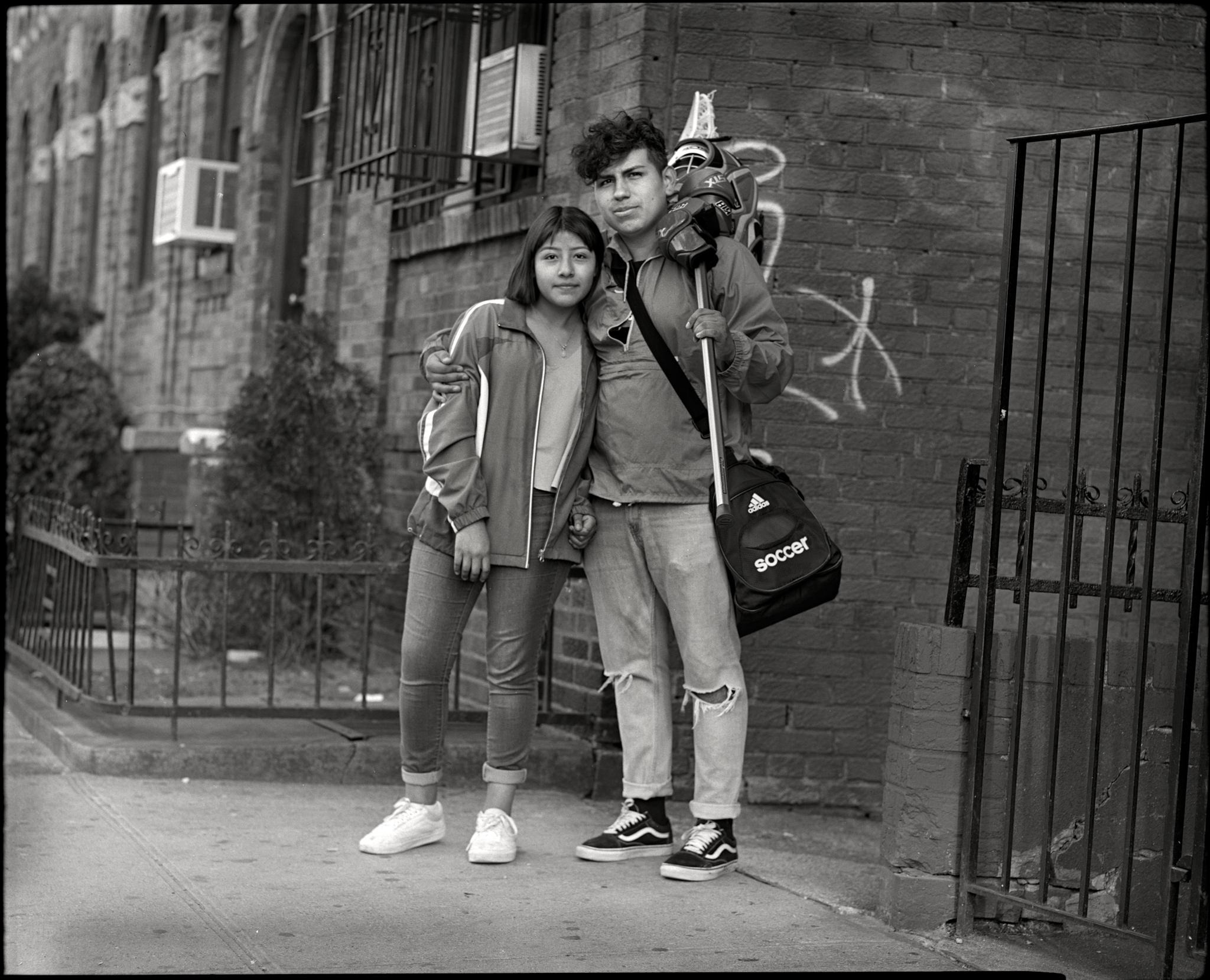 Kevin and Leslie, Kings Highway, Brooklyn