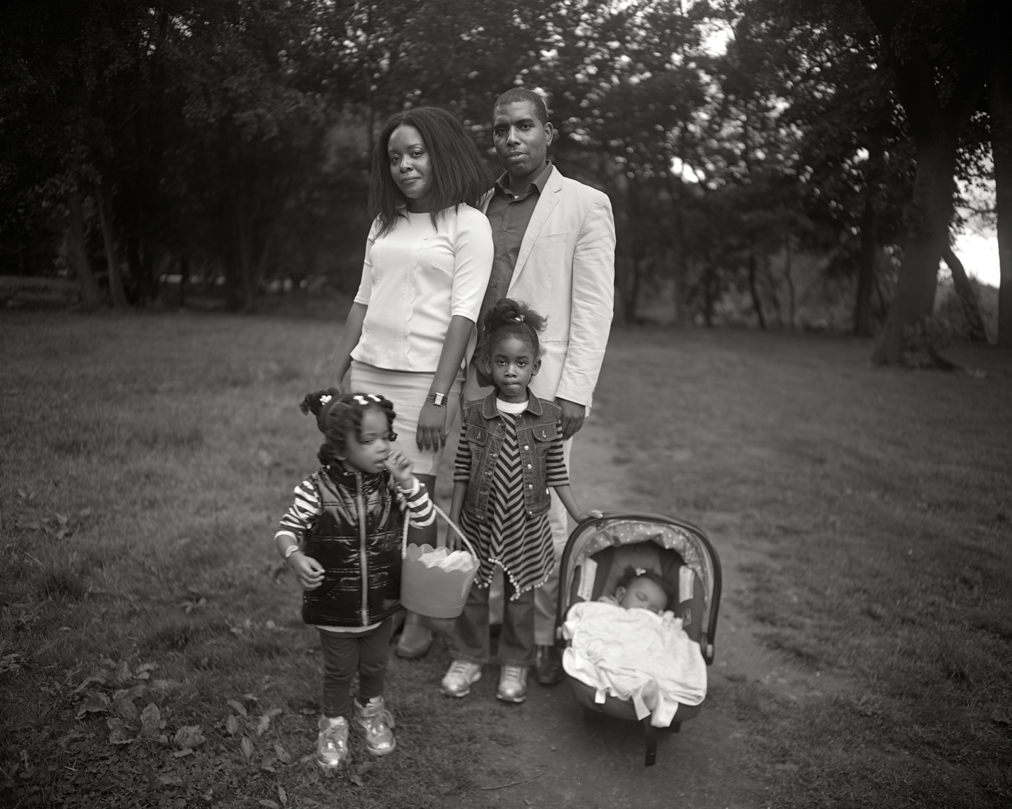 Family, Prospect Park, Brooklyn