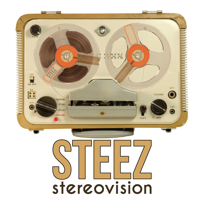 """Steez """"stereovision"""" CD Front Cover"""